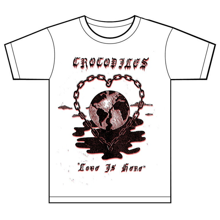 "Image of ""LOVE IS HERE"" T-Shirt"