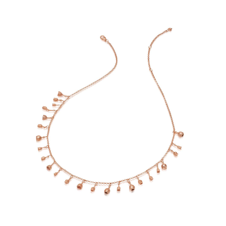 Image of Rose Gold Vermeil Gumnut Short Chain