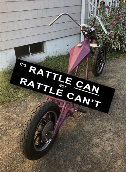 Image of Rattle Can't Sticker
