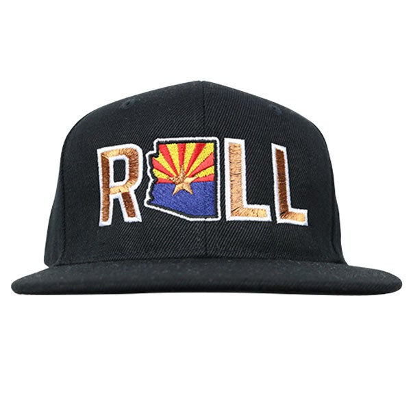 """Image of AGGRO BRAND """"ROLL AZ"""" Copper State Hat"""