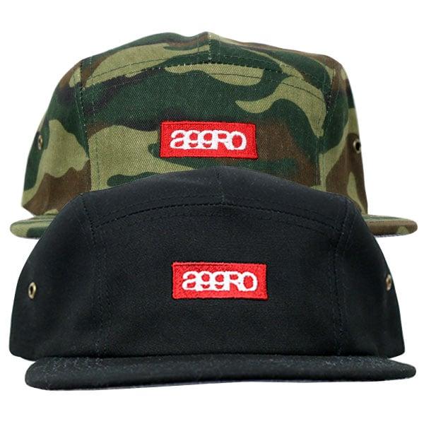 "Image of AGGRO BRAND ""CLASH"" 5 Panel Camper Hat"