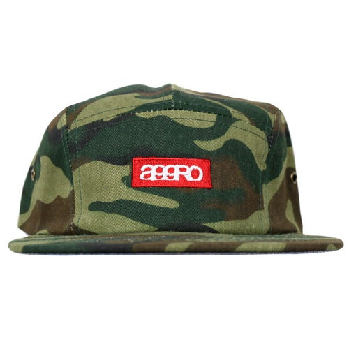 "Image of AGGRO BRAND ""CLASH"" 5 Panel Camper Hat"