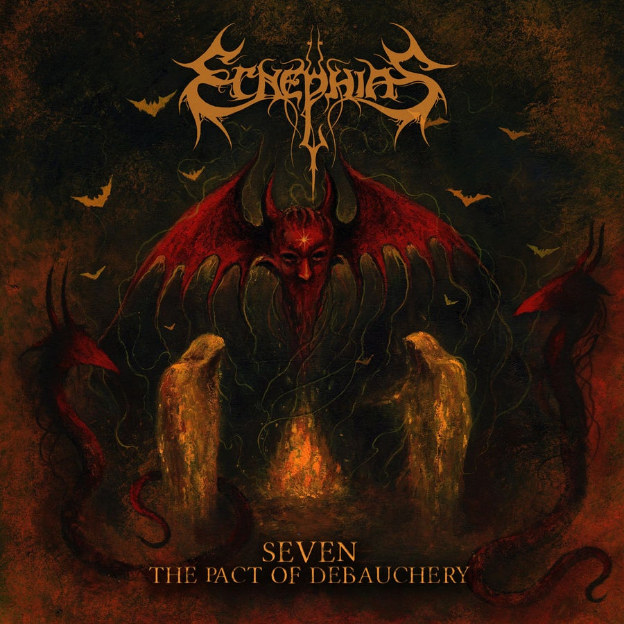 "Image of ECNEPHIAS ""Seven - The Pact Of Debauchery"" CD"