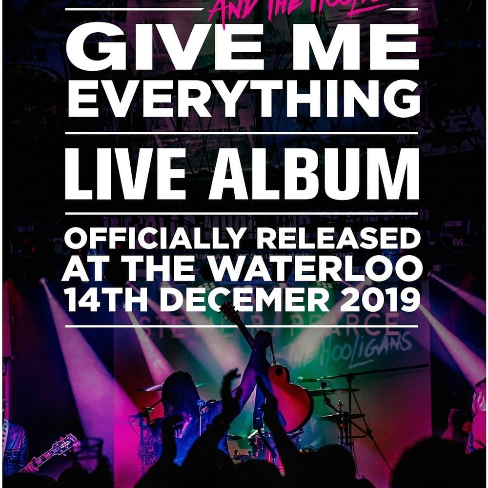 Image of GIVE ME EVERYTHING: LIVE IN BLACKPOOL