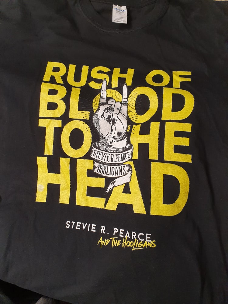 Image of RUSH OF BLOOD TO THE HEAD SHIRT