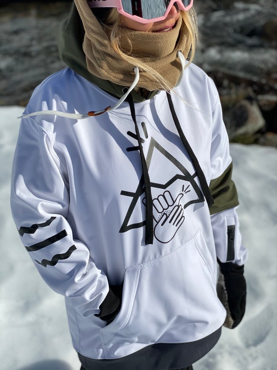 Image of FRONTAL -Limited Edition 10k Waterproof- Tall Hoodie