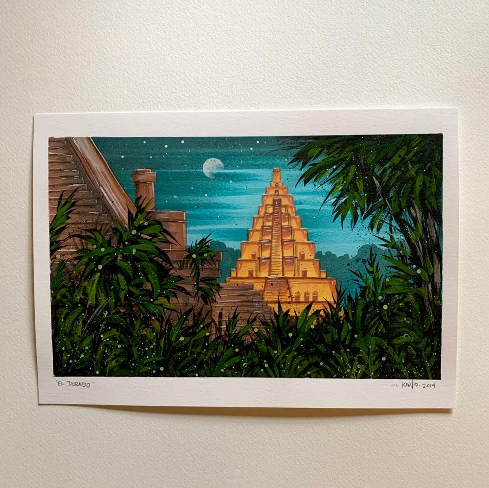 Image of Hidden City - Original Illustration