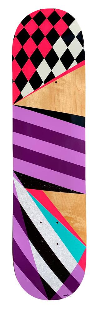 """Image of """"Geo #107"""" Skate Deck"""