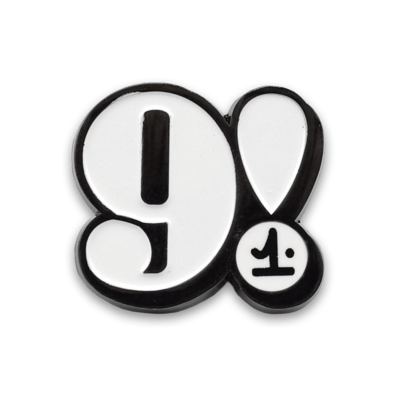 Image of 9! ENAMEL PIN