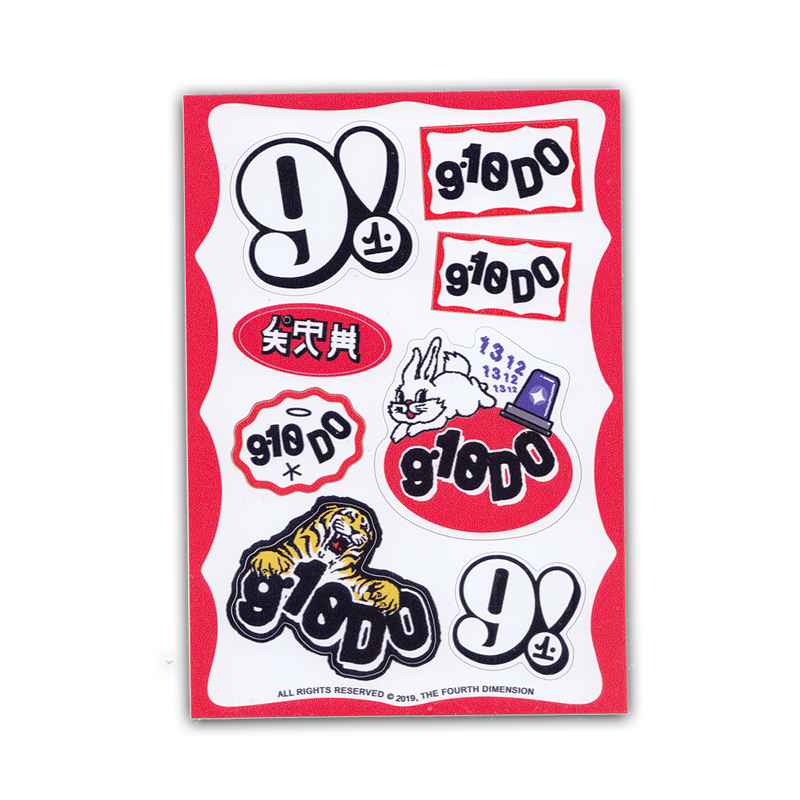 Image of 9.10DO STICKERS PACK