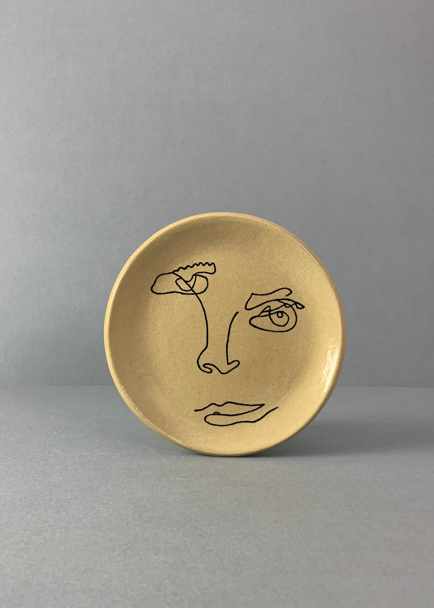 Image of Small Face Plate Yellow