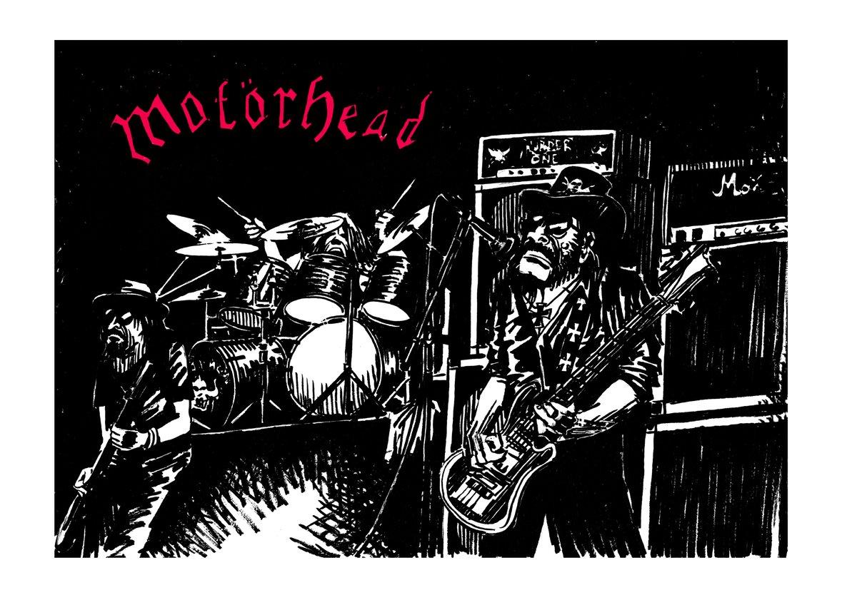 Image of Affiche Motörhead