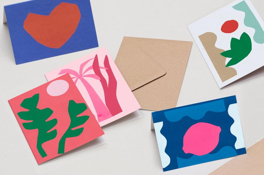 Image of 5 CARTES . AU CHOIX .