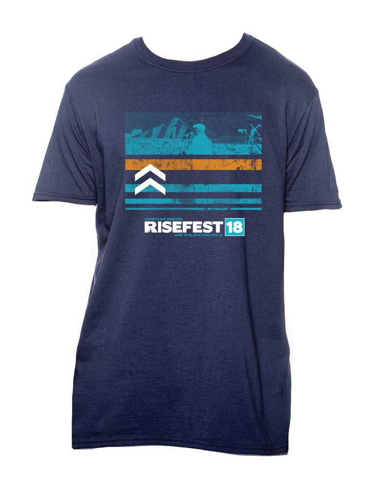 Image of Official RiseFest 2018 T-Shirt