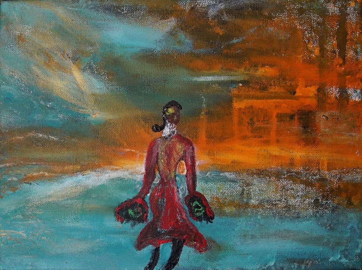 Image of Is She Moving Forward or Backwards