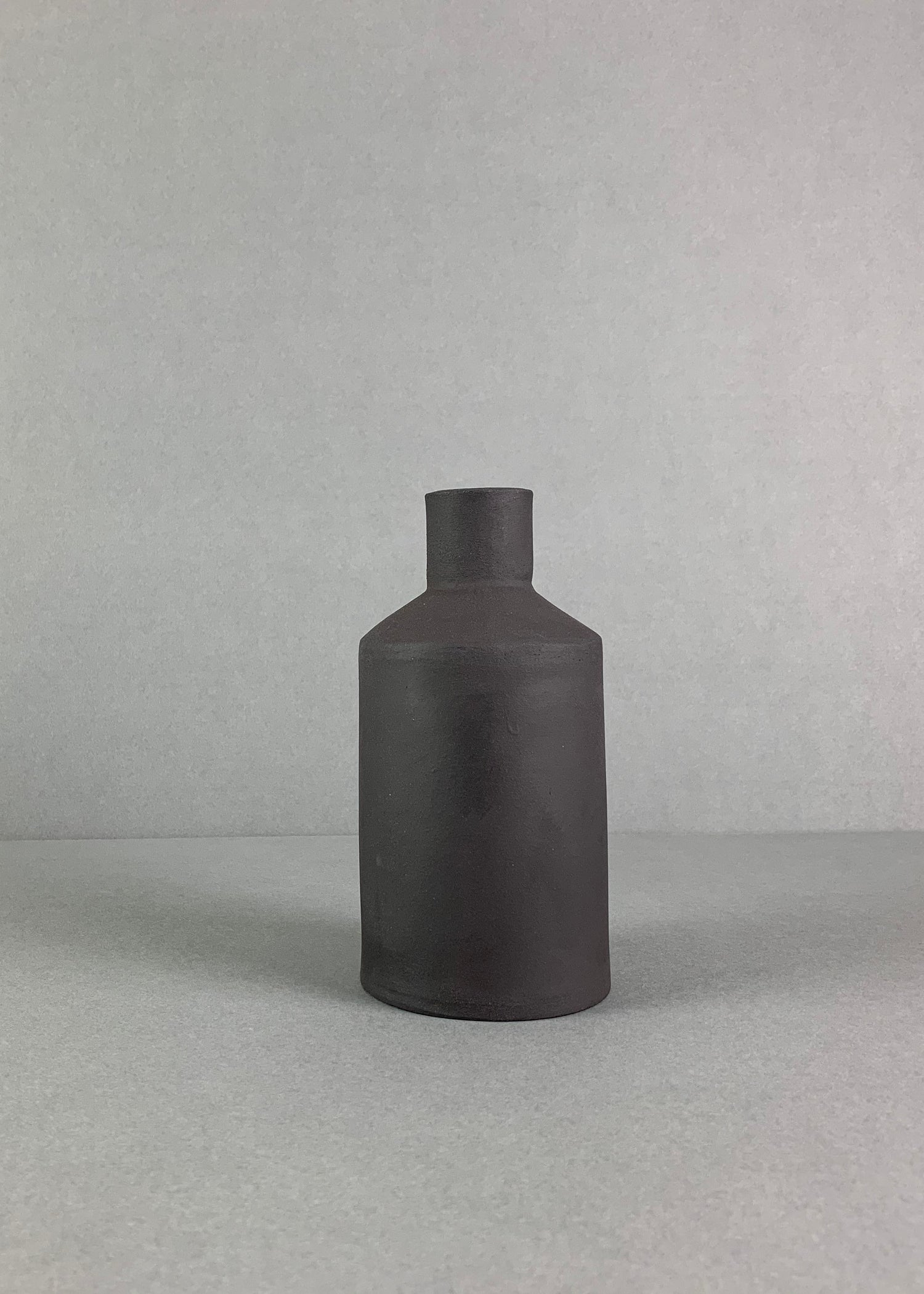 Image of Small Black Bottle Vase