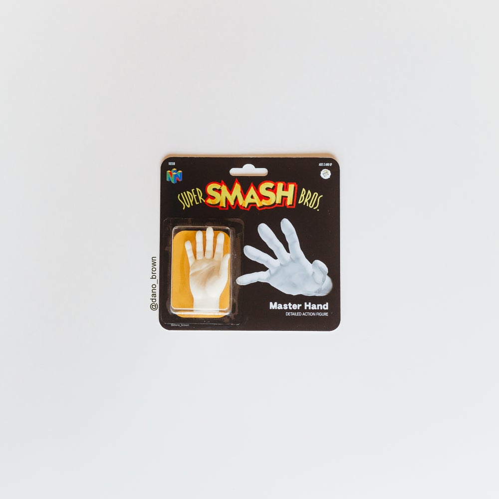 Image of Master Hand Action Figure