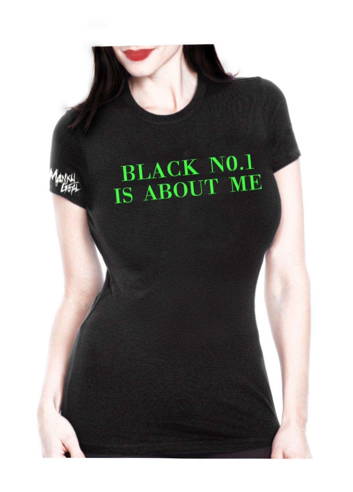 Image of Black No.1 Green Women's Tee