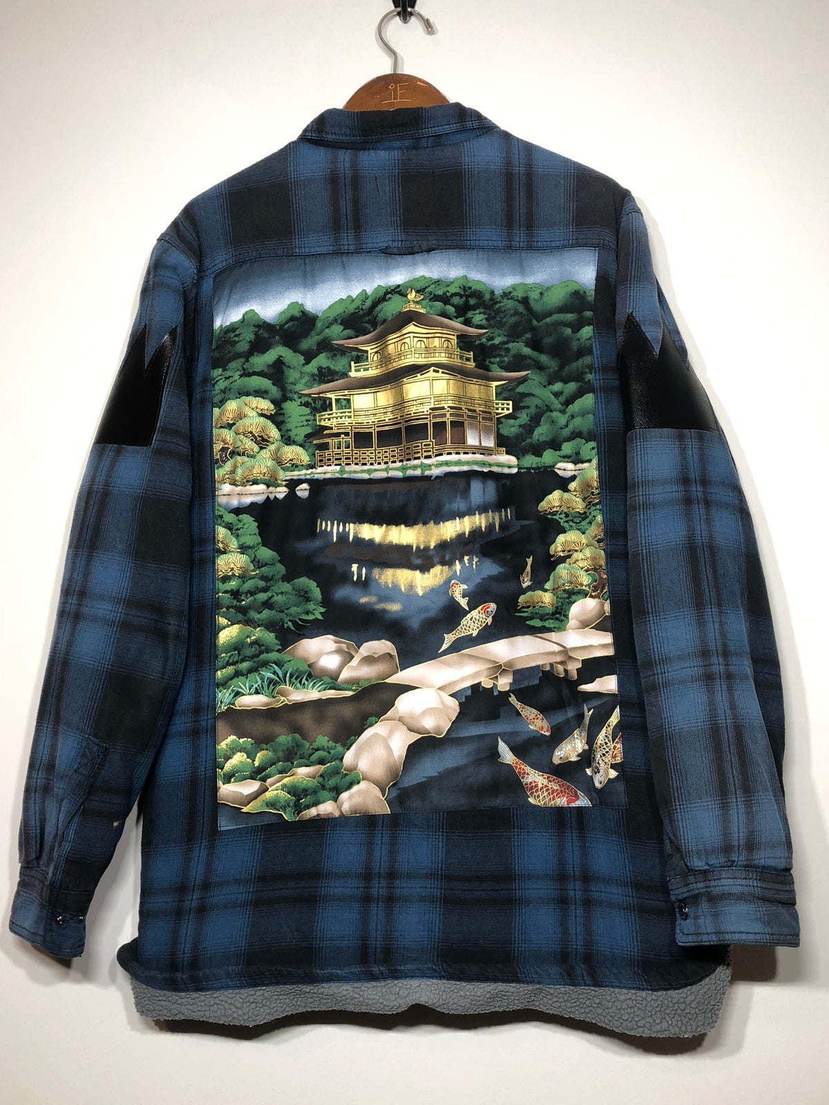Image of Fleece Lined Temple Flannel