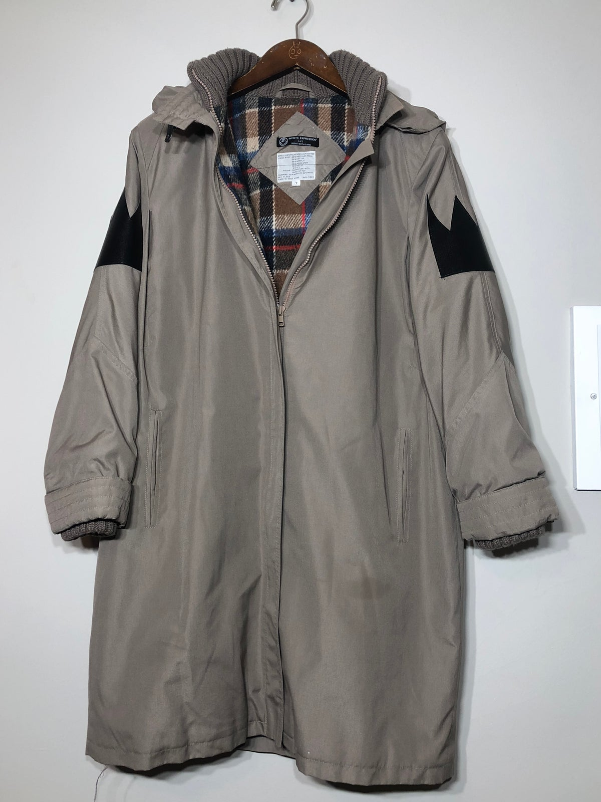 Image of Winter Geisha Trench Coat