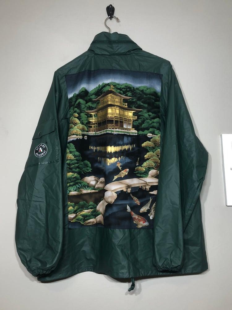 Image of Japanese Temple Raincoat