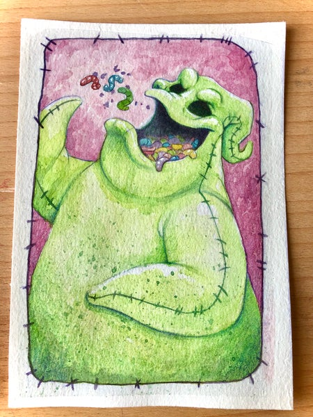 Image of Oogie Boogie (painting)