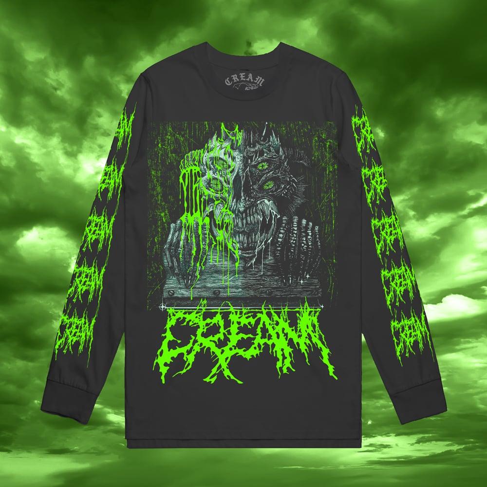 "Image of ""The CREAM Demon"" - BLACK LONGSLEEVE SHIRT"