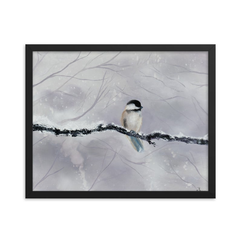 "Image of ""Winter Bird"" Poster Print"