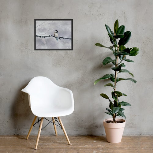 "Image of ""Winter Bird"" Poster Print"
