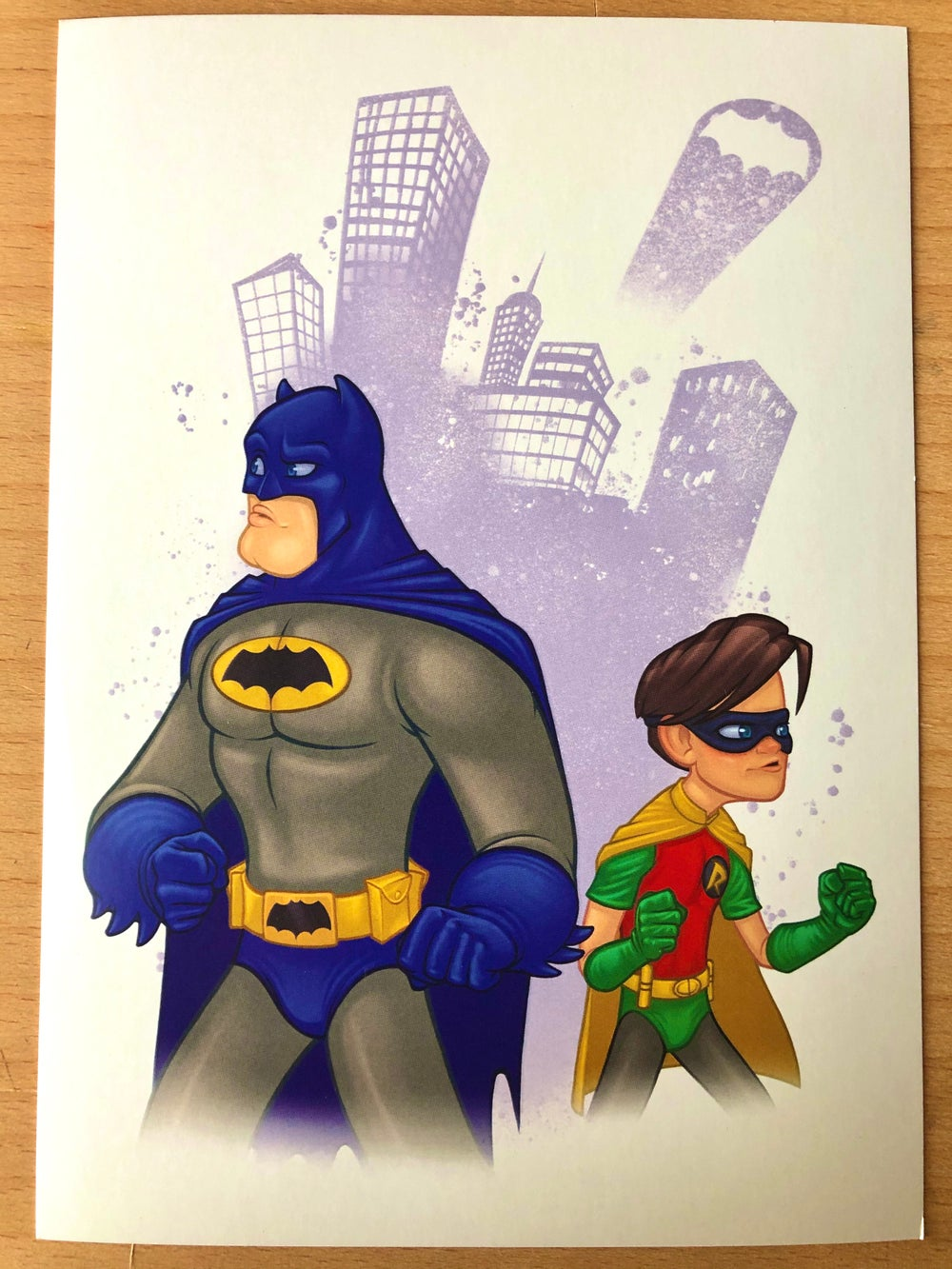 Bat and Robin (print)