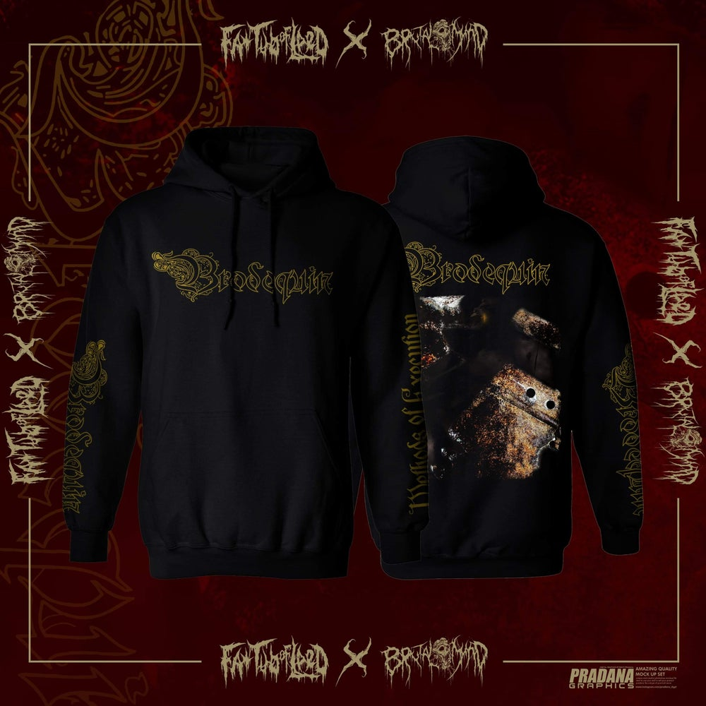 """Image of *PREORDER* Officially Licensed Brodequin """"Methods of Execution"""" Hoodies and Zipup Hoodies!!"""