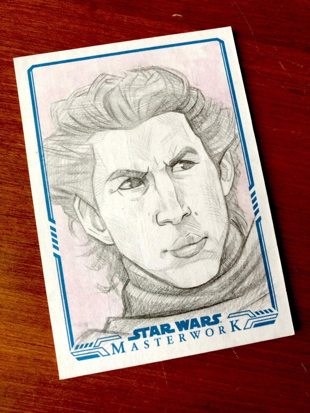 Kylo (official topps sketch card)