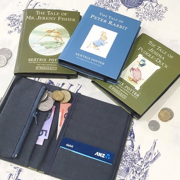 Image of Beatrix Potter Book Wallets