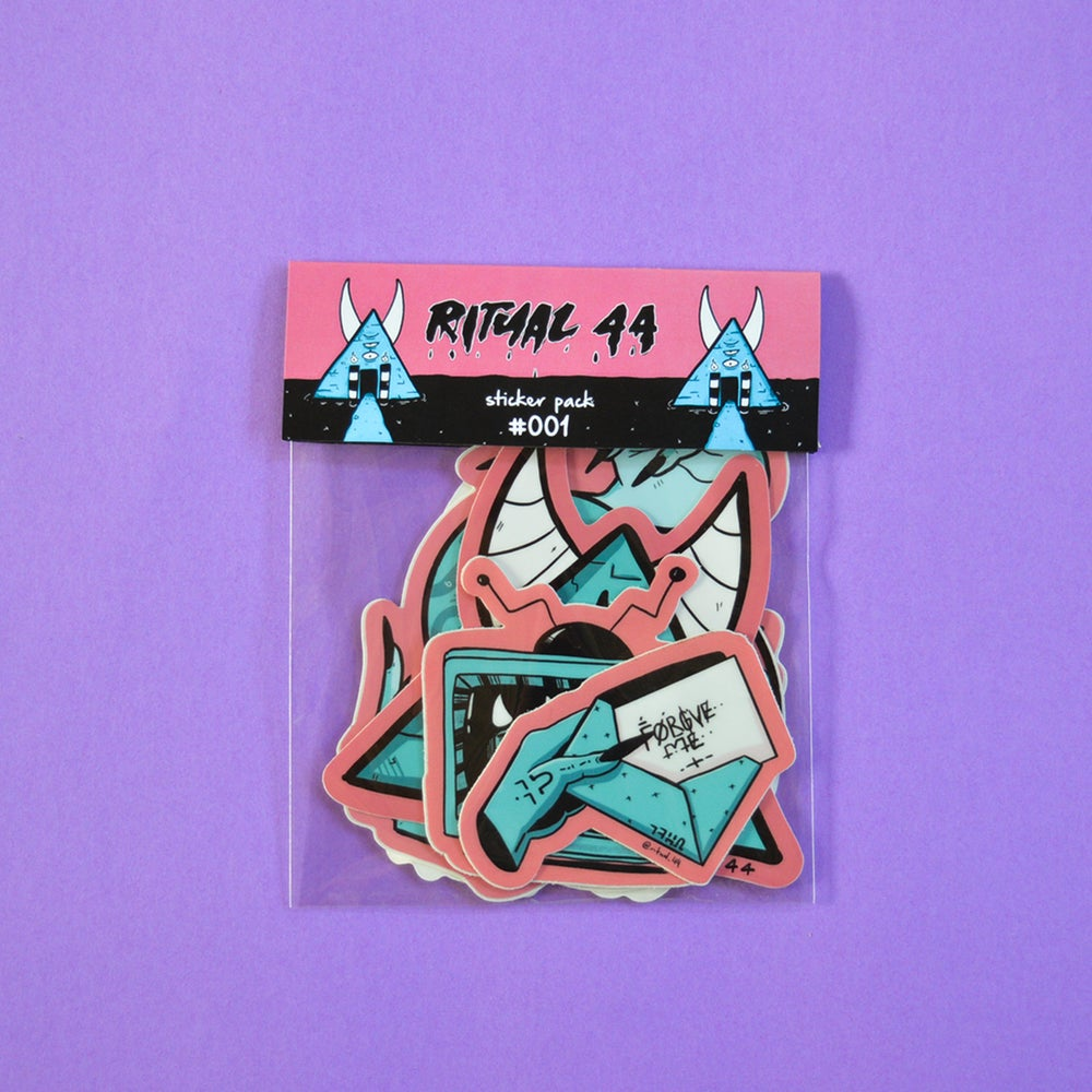 Image of Ritual 44 Sticker Pack #001