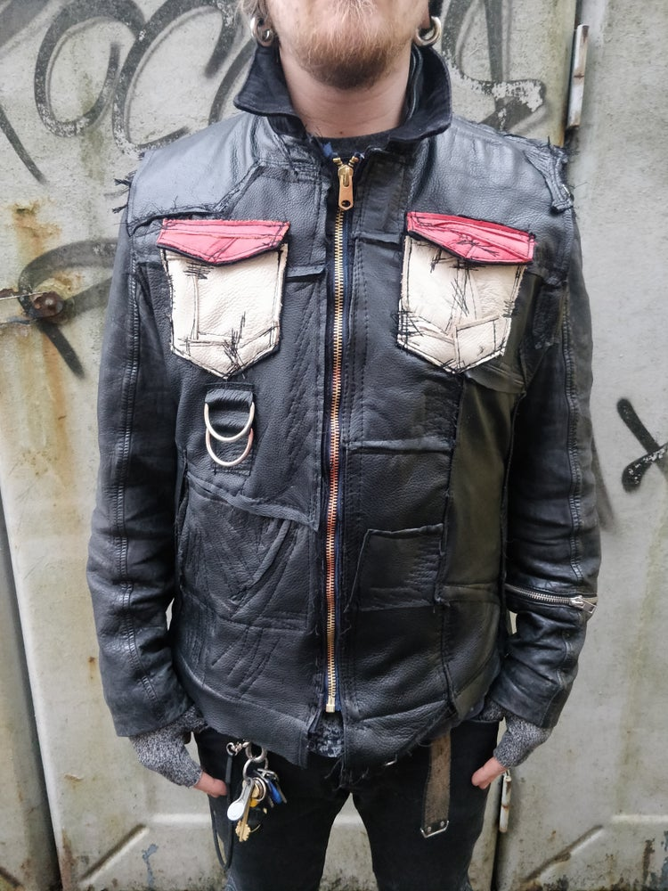 Image of Bastard leather vest
