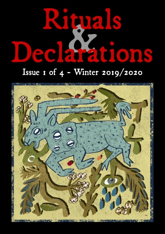 Image of Rituals & Declarations issue 1 of 4 - Winter 2019/2020
