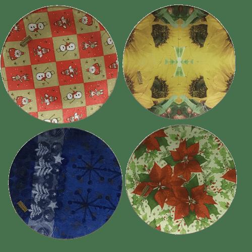 Image of Platos de cristal decorados - Plats de cristall decorats