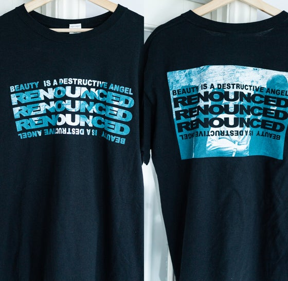 Image of RENOUNCED - CUT OUT - TOUR SHIRT