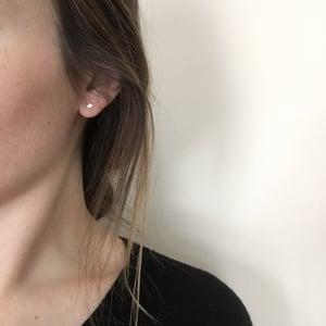 Image of gibbous earring