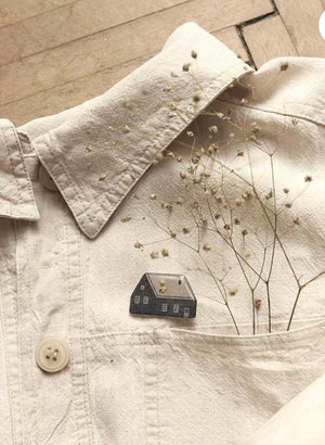 Image of Broche Little House de Nastia Sleptsova