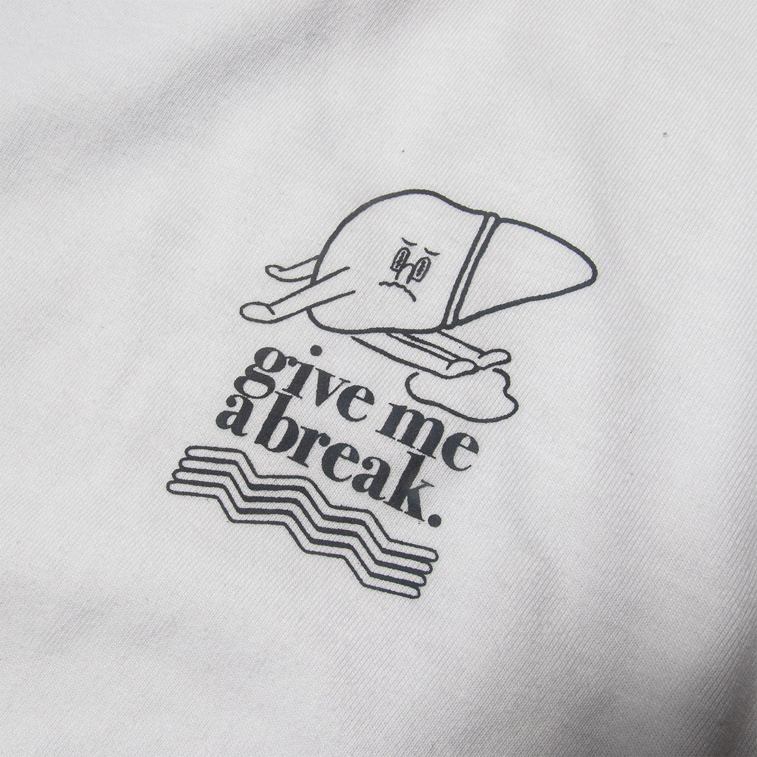 """Image of WRKS Pastime """"TIRED"""" Long Sleeve Tee"""