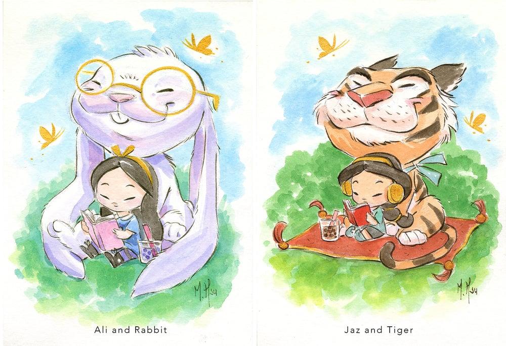Image of Modern Fairytales- Ali and Jaz