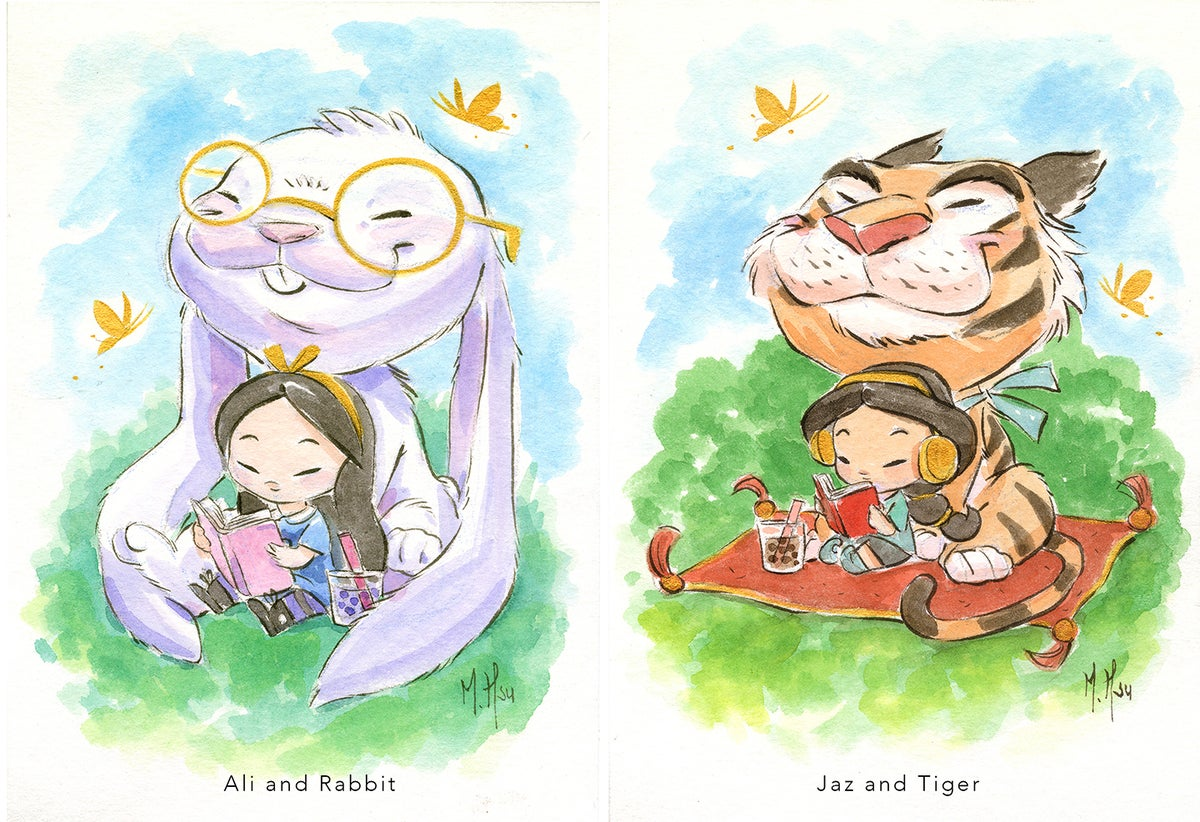 "Modern Fairytales- Ali and Jaz 5 x 7"" Prints"
