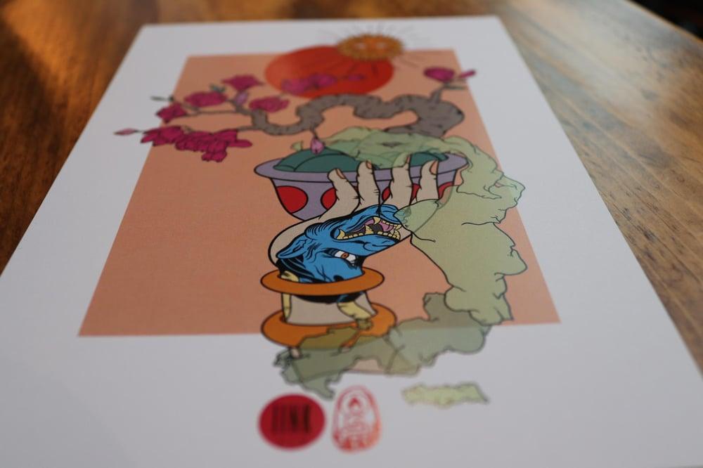 Bonsai print.