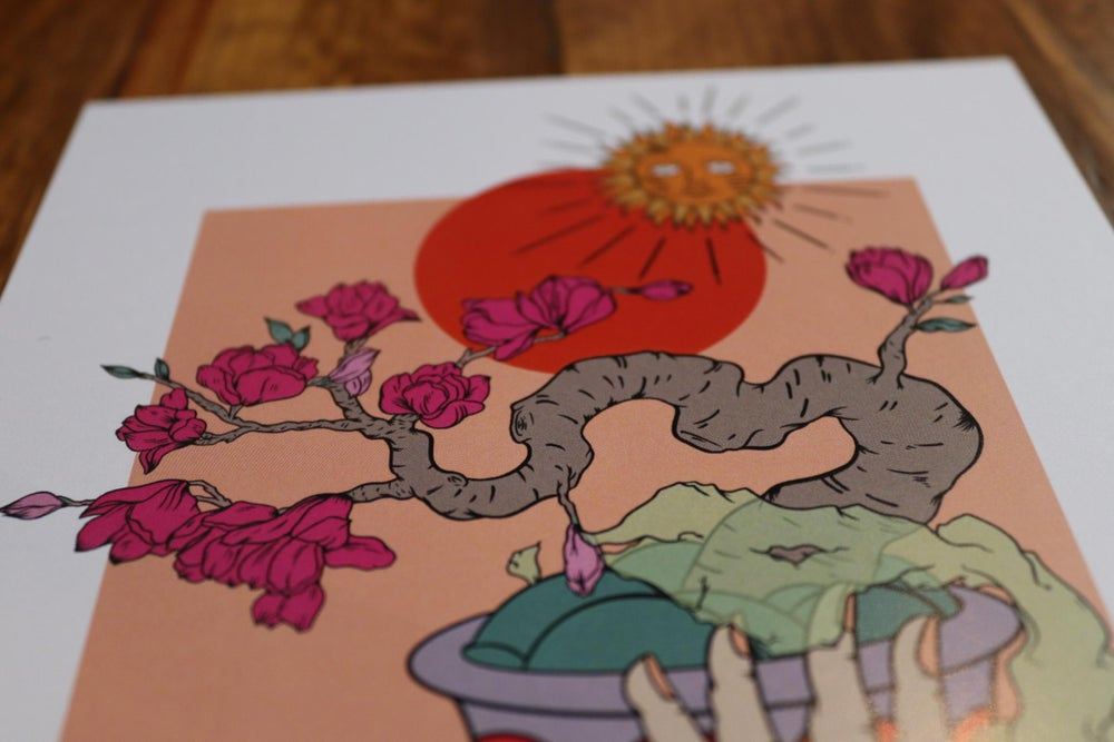 Image of Bonsai print.