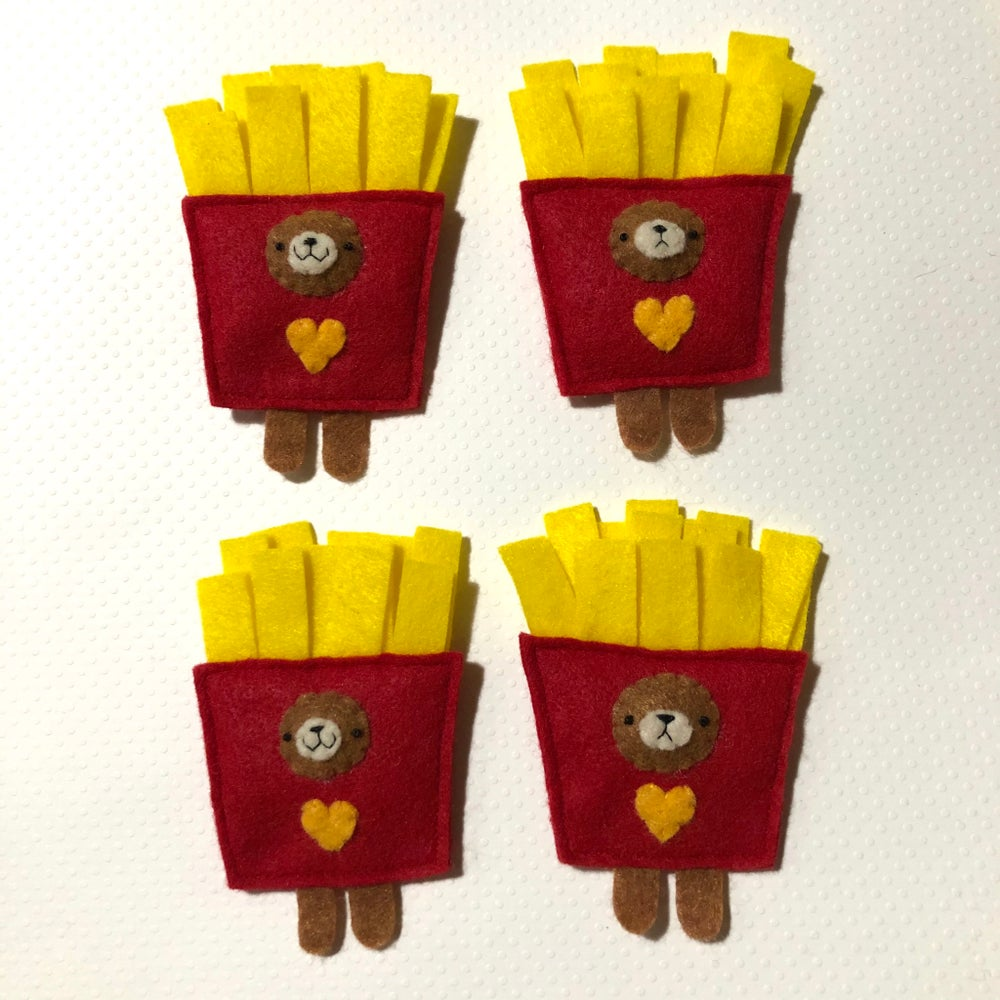 Image of incognito french fry ornaments