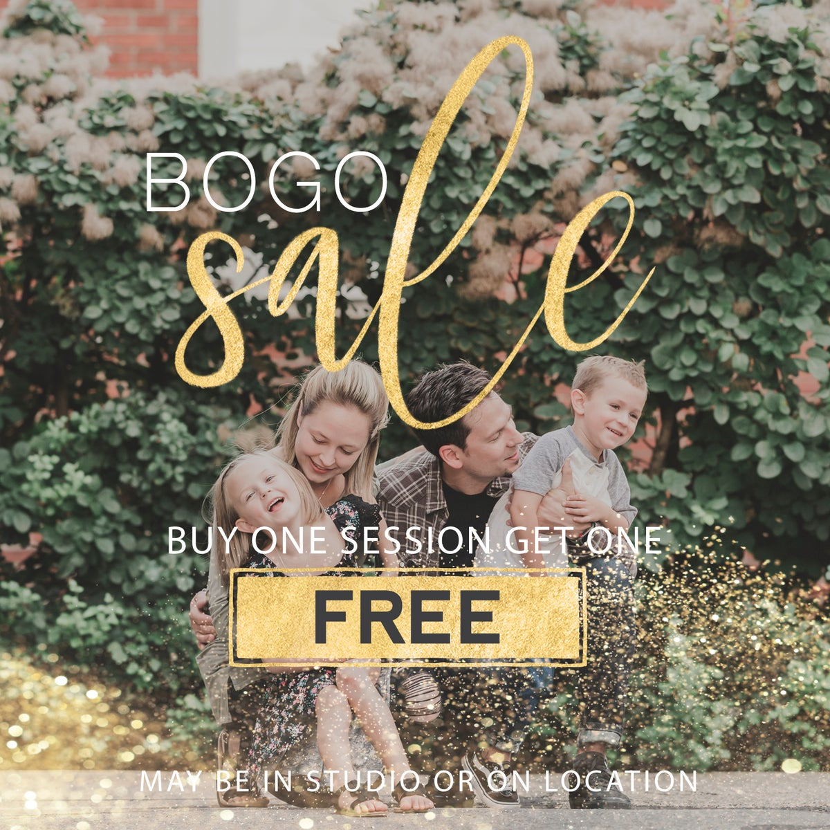 Image of BOGO Simple Portrait Session