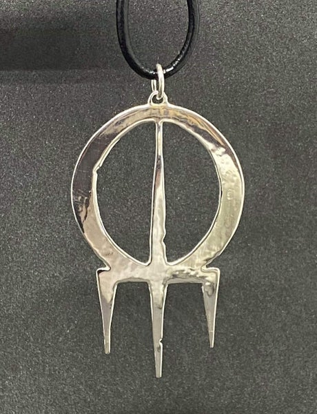 Image of Skyblood pendant in silver (incl trackable shipping)