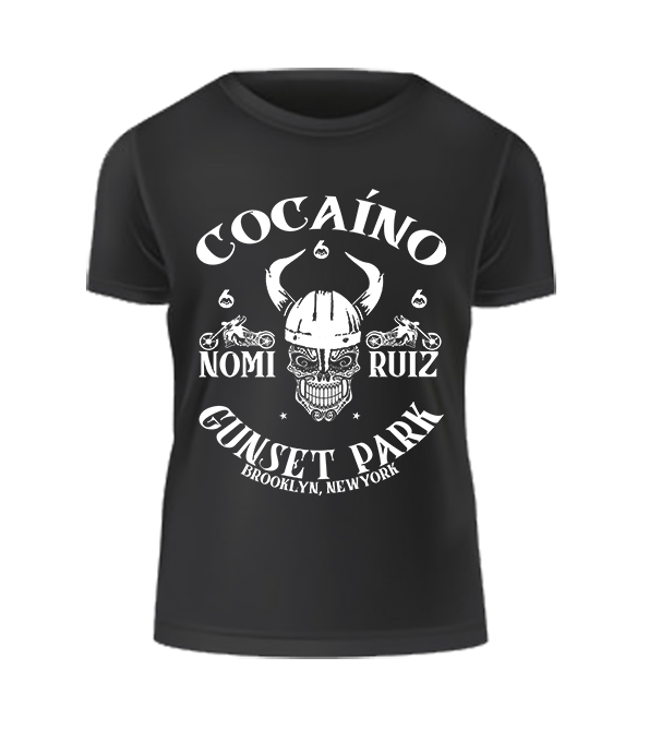 Image of Black 'Cocaíno' MC Tee