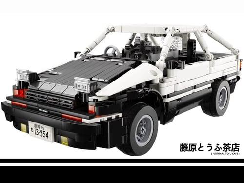 Image of Fujiwara Tofu Cafe AE86 Collectible Limited Edition Building Kit